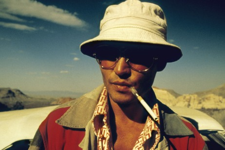 Fear and Loathing in Las Vegas (1998) Directed by Terry Gilliam Shown: Johnny Depp